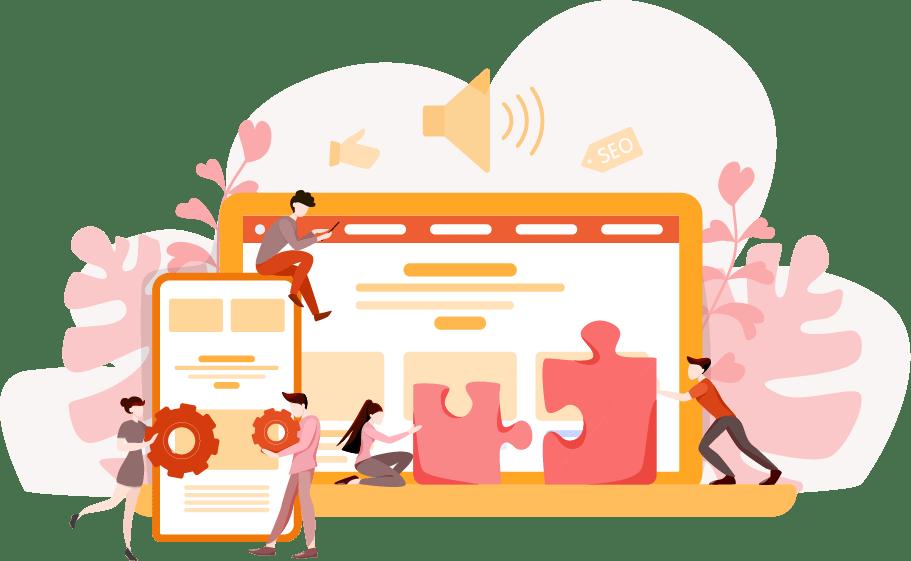 Site web responsive chez Pep's Web