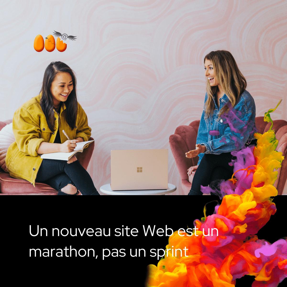 Un nouveau site Web est un marathon, pas un sprint