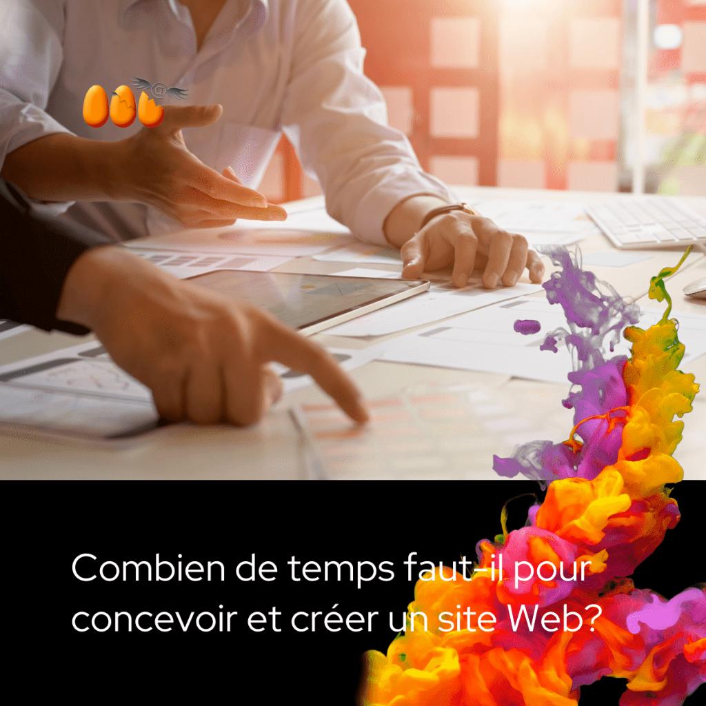 Combien de temps faut-il pour concevoir et créer un site Web?